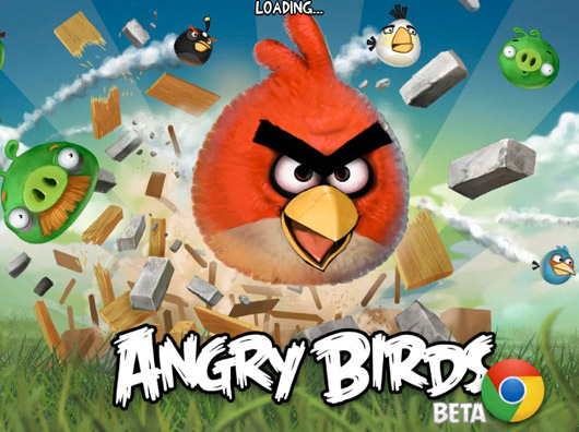 Angry Birds als HTML5 Webanwendung