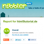 HTML5Tutorial bei Nibbler