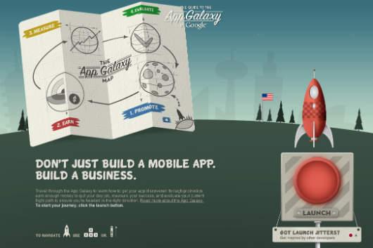 Handbuch für die App Galaxy von Google