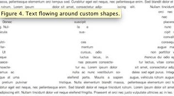 Negativformen mit CSS-Regions