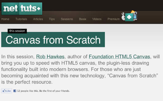 Canvas from Scratch - HTML5 Canvas