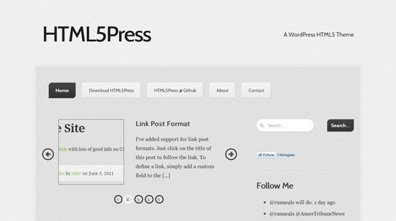 Bildschirmfoto 2011 10 03 um 19.27.10 7 kostenlose HTML5 WordPress Themes